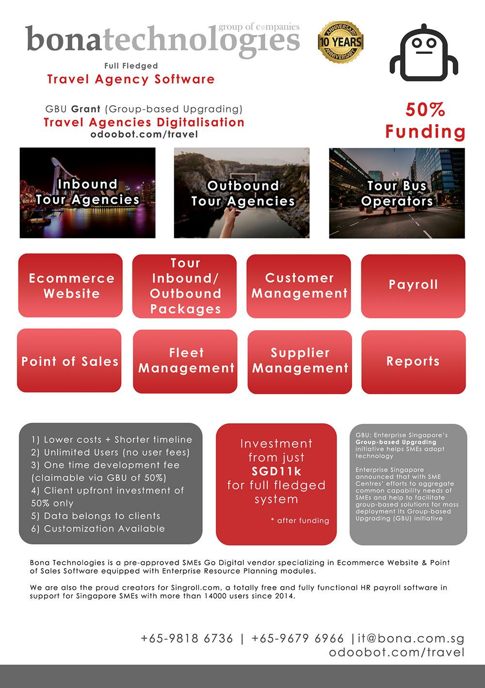 GBU Grant for Travel Agencies Digitalisation
